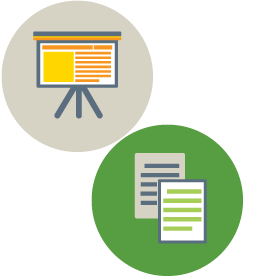 Easel and Form Icons