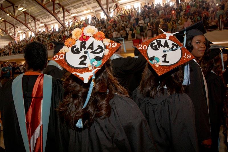 Graduation student caps